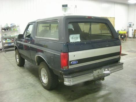 Photo #12: SUV: 1993 Ford Bronco (Green)