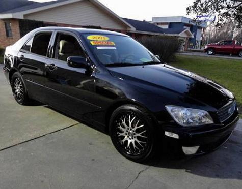 used 2001 lexus is 300 sports sedan for sale in la. Black Bedroom Furniture Sets. Home Design Ideas