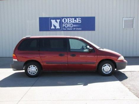 Photo #2: cargo minivan: 2000 Ford Windstar (Red Metallic)