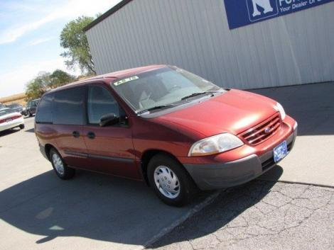 Photo #5: cargo minivan: 2000 Ford Windstar (Red Metallic)