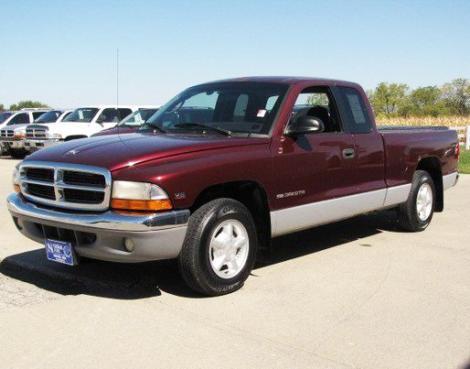 Used 2000 Dodge Dakota Slt Club Cab Pickup Truck For Sale