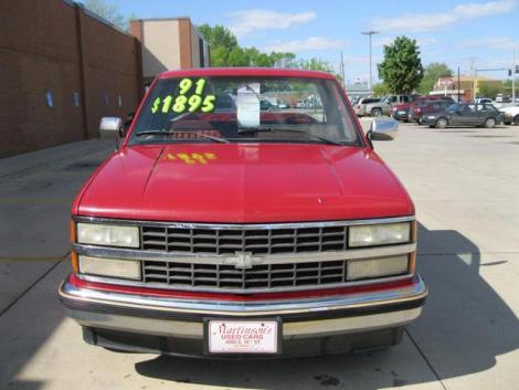 Used Chevy 1500 Truck '91 Under $2000 Des Moines, IA ...