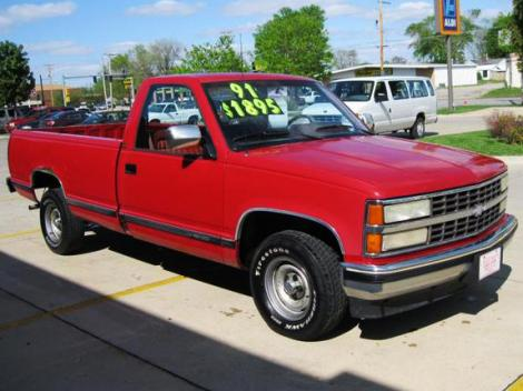 Used Chevy 1500 Truck 91 Under 2000 Des Moines Ia