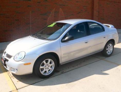 used dodge neon sxt 2004 under 6000 in des moines iowa silver. Black Bedroom Furniture Sets. Home Design Ideas