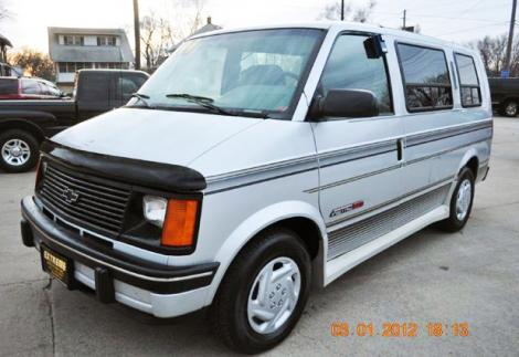 Used Cars For Sale Under 5000 >> 1994 Chevrolet Astro Cargo Van For Sale in Des Moines IA ...