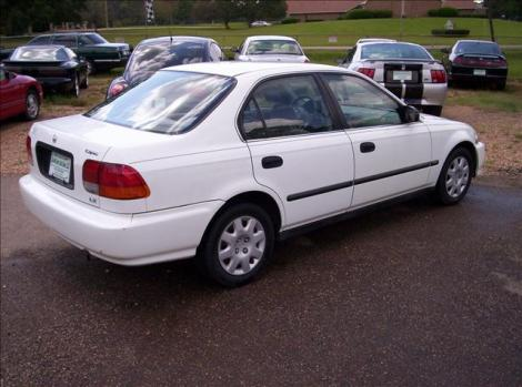 used 1998 honda civic lx sedan for sale in ms. Black Bedroom Furniture Sets. Home Design Ideas