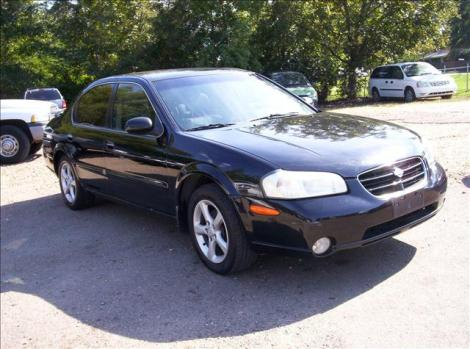 Photo #2: sedan: 2000 Nissan Maxima (Black)