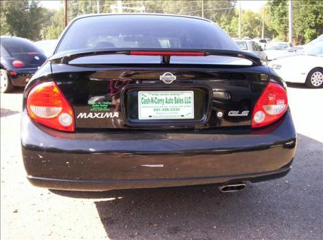 Photo #5: sedan: 2000 Nissan Maxima (Black)