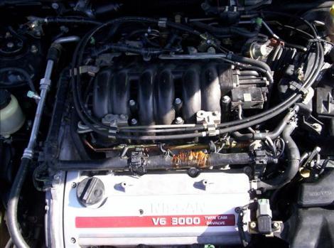 Photo #9: sedan: 2000 Nissan Maxima (Black)