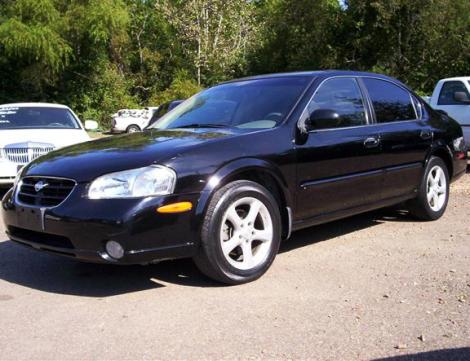 Photo #1: sedan: 2000 Nissan Maxima (Black)