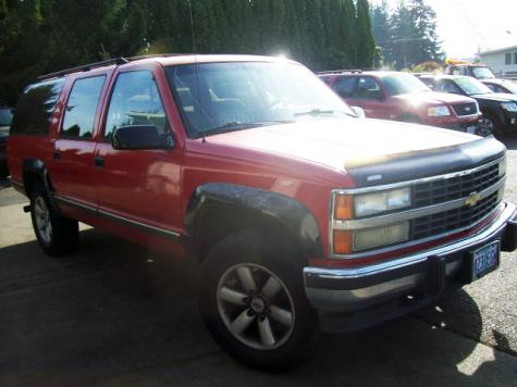 Photo #2: SUV: 1993 Chevrolet Suburban (Red)