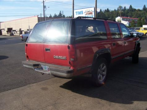 Photo #6: SUV: 1993 Chevrolet Suburban (Red)