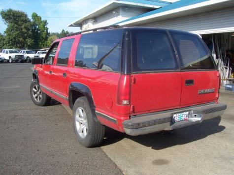 Photo #7: SUV: 1993 Chevrolet Suburban (Red)