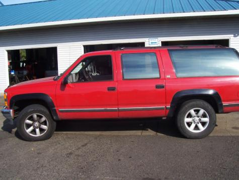 Photo #1: SUV: 1993 Chevrolet Suburban (Red)