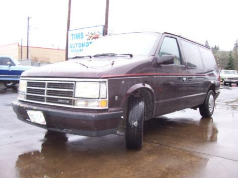 Used 1990 Dodge Caravan LE Passenger Minivan For Sale in ...