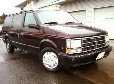 Used 1990 Dodge Caravan Le Passenger Minivan For Sale In