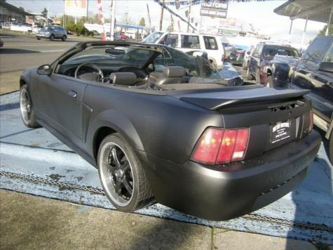 Photo #5: convertible: 2000 Ford Mustang (Black)