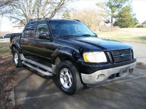 used 2001 ford explorer sport trac pickup truck for sale in sc. Black Bedroom Furniture Sets. Home Design Ideas