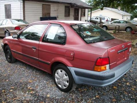 Photo #3: coupe: 1997 Toyota Tercel (Brown)