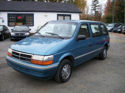 dirt cheap minivan under 1000 in sc used dodge caravan 1993. Black Bedroom Furniture Sets. Home Design Ideas