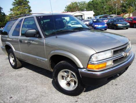 Used Cars For Sale By Private Owner Under 1500 >> Used 1999 Chevrolet Blazer 2-DR SUV For Sale in SC - Autopten.com