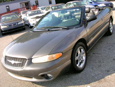 2000 Chrysler Sebring JXi Convertible Under $3k in Atlanta ...