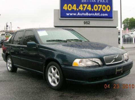 used 1998 volvo s70 sedan for sale in ga. Black Bedroom Furniture Sets. Home Design Ideas