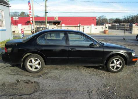 Photo #1: sedan: 1998 Nissan Maxima (Black)