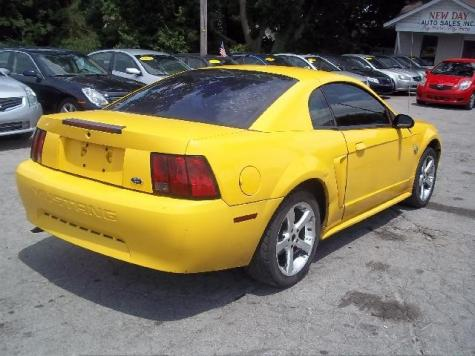 ford mustang under 2000 in tn cheap sporty coupe 39 99 yellow. Black Bedroom Furniture Sets. Home Design Ideas