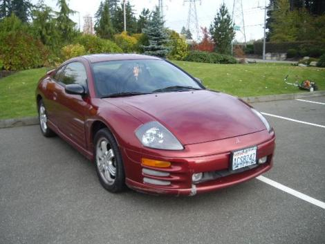 2000 mitsubishi eclipse gt for sale in wichita ks under 5000. Black Bedroom Furniture Sets. Home Design Ideas