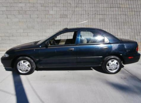 used 1997 mazda protege lx sedan for sale in tn. Black Bedroom Furniture Sets. Home Design Ideas