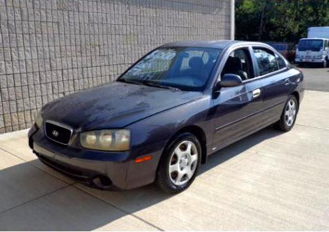 Local Car Auctions >> Economy Used Car For $1000 or Less - Hyundai Elantra GLS '01 in TN - Autopten.com