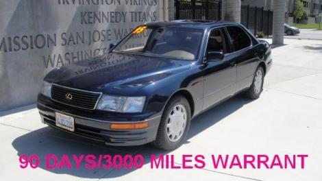 used Black 1995 Lexus LS 400