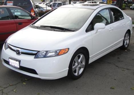 Used Cars Under 10000 >> 2007 Honda Civic EX For Sale in Fremont CA Under $14000 ...