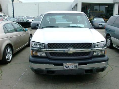 Photo #2: truck: 2003 Chevrolet Silverado (White)