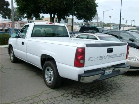 Photo #3: truck: 2003 Chevrolet Silverado (White)