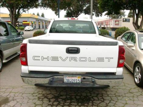 Photo #4: truck: 2003 Chevrolet Silverado (White)