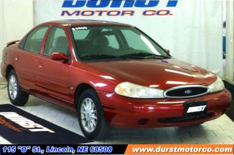 cheap car under 1000 in nebraska 1999 ford contour lx sedan. Black Bedroom Furniture Sets. Home Design Ideas