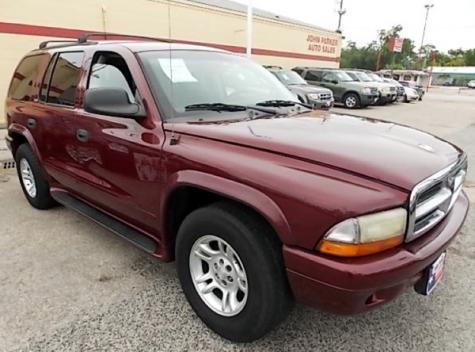 Used 2002 Dodge Durango Slt Suv For Sale In Tx Autopten Com