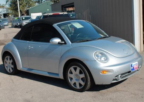 used 2003 volkswagen beetle convertible gls convertible for sale in tx. Black Bedroom Furniture Sets. Home Design Ideas