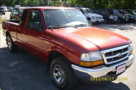 Photo #2: pickup truck: 2000 Ford Ranger (Red)