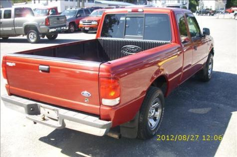 Photo #4: pickup truck: 2000 Ford Ranger (Red)