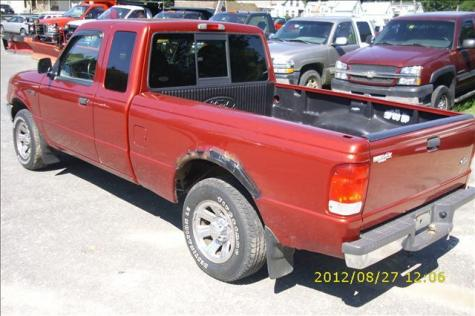 used 2000 ford ranger xl super cab pickup truck for sale in vt. Black Bedroom Furniture Sets. Home Design Ideas
