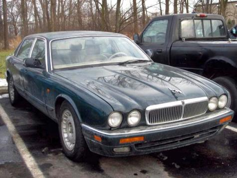 Photo #1: sedan: 1996 Jaguar XJ (Green)