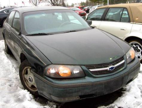 used 2002 chevrolet impala ls sedan for sale in mi. Black Bedroom Furniture Sets. Home Design Ideas
