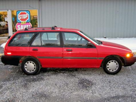 Toyota Dealers In Delaware >> 1992 Ford Escort LX Wagon For Sale in Dover DE Under $3000 ...