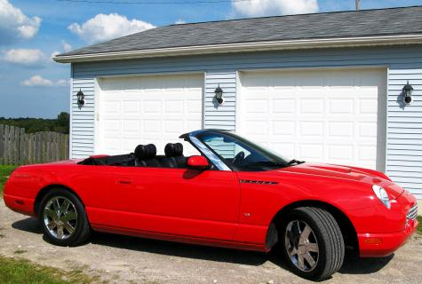 ford thunderbird convertible by owner in pa under 21000. Black Bedroom Furniture Sets. Home Design Ideas