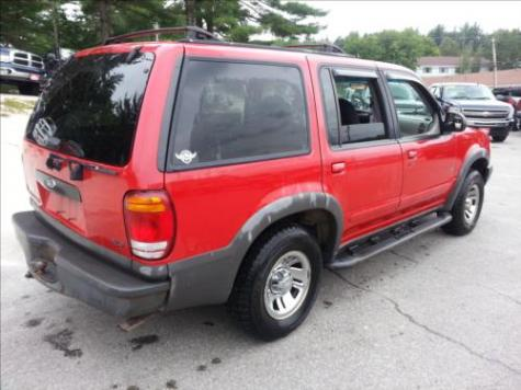 Photo #8: SUV: 1999 Ford Explorer (Red)