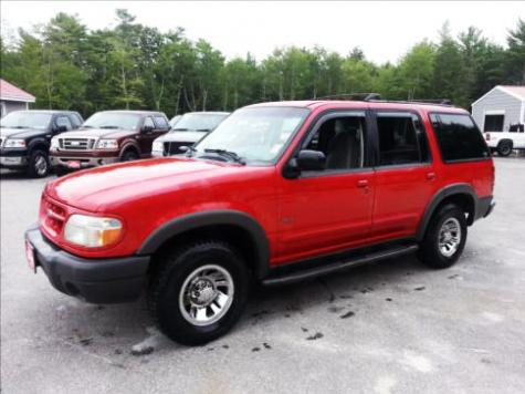 Photo #1: SUV: 1999 Ford Explorer (Red)