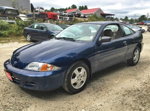 Volvo Dealers Nh >> Used Car in NH Under $1K-$1500: 2001 Chevy Cavalier (Low ...